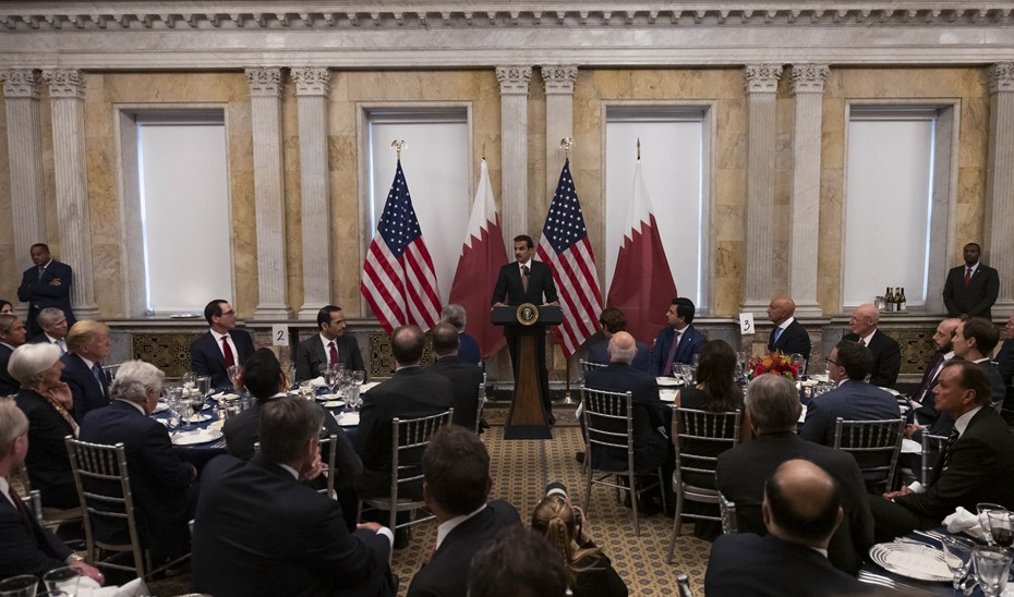Amir: Qatar, US will work together to reduce tension in region