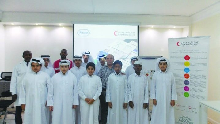 QRCS holds health education sessions for school students