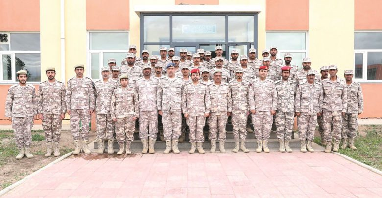 Qatar Armed Forces end participation in Khaan Quest exercise in Mongolia