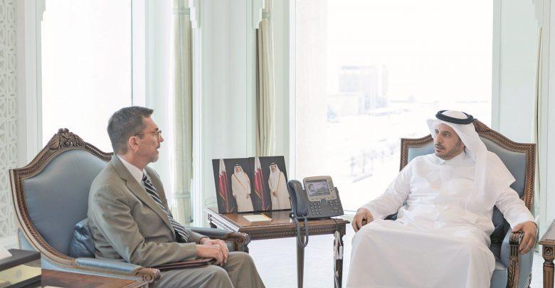 Prime Minister meets US Chargé d'Affaires