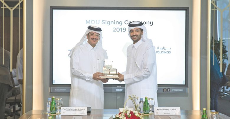 Barzan Holdings, Qatar Post sign MoU