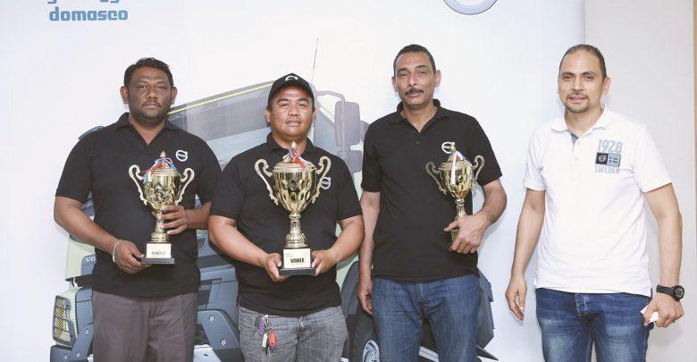 22 drivers compete in Volvo Trucks challenge