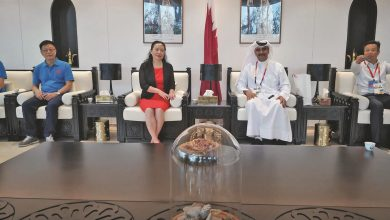 Photo of Mayor of Maoming City visits Qatar pavilion at Beijing expo