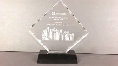 HMC wins Microsoft Qatar Digital Transformation Award