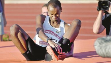 Barshim makes Diamond League return