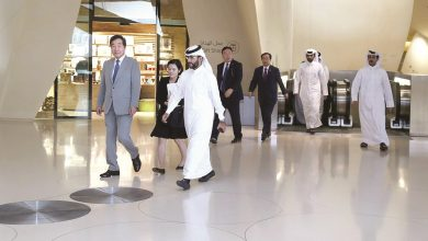 Korean PM visits National Museum of Qatar