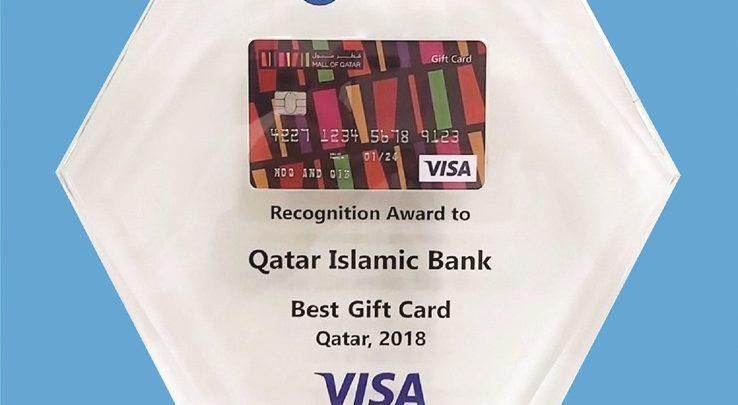 QIB, Mall of Qatar win 'Best Gift Card in Qatar' award by Visa