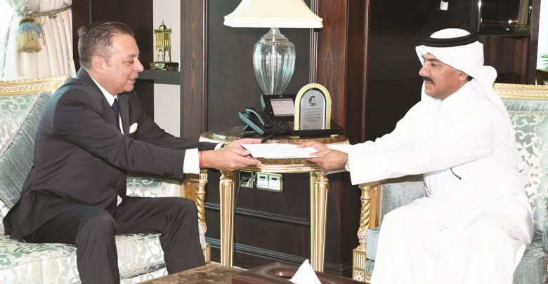 Written message from Argentina President delivered toAmir