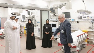 Photo of Deputy Amir visits new HMC Emergency