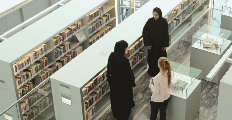Jooza al-Marri is the first Qatari to receive a Master of Library Science