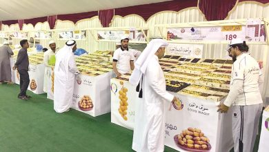 Photo of Sale at dates festival tops 79 tonnes
