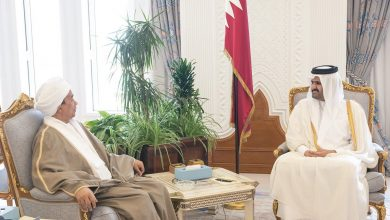 Photo of Deputy Amir meets ambassador of Sudan