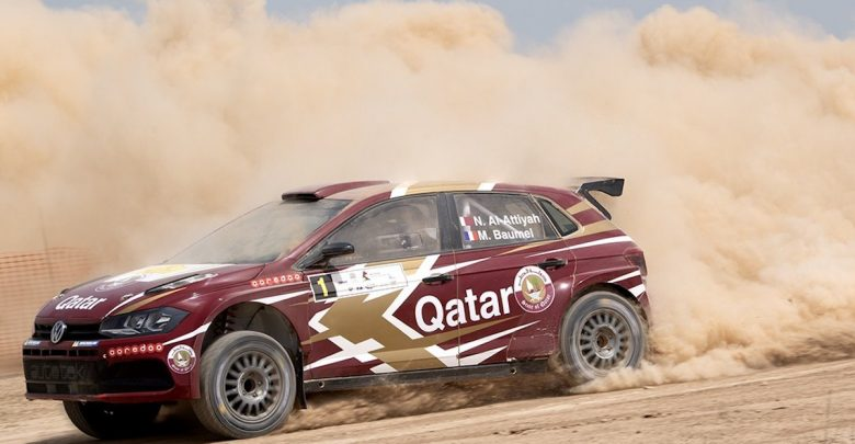 Qatar's al-Attiyah in lead after short opening Silk Way stage
