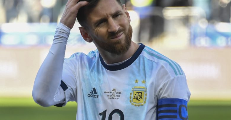 CONMEBOL issued a statement to respond to Messi's angry remarks