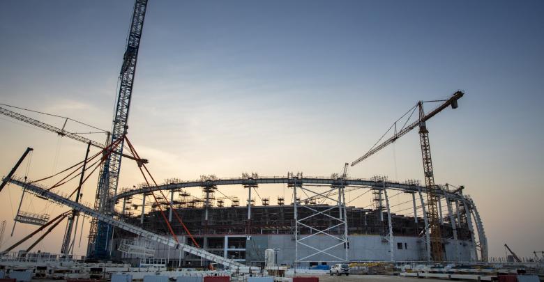 Al Thumama Stadium is looking great!
