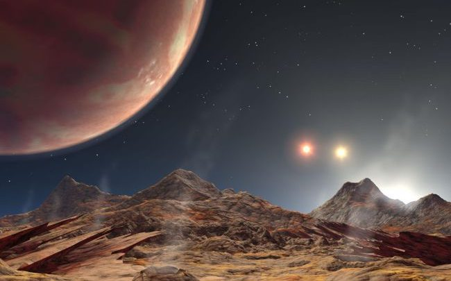 NASA spotted an alien planet with three suns