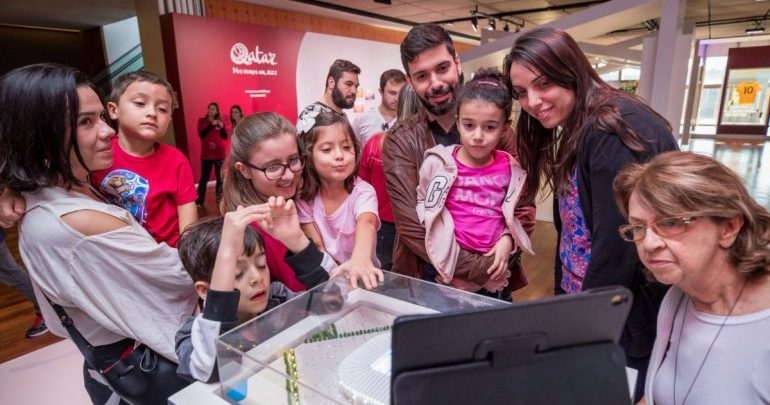 Qatar 2022 Exhibition in Sao Paulo attracts thousands of football fans