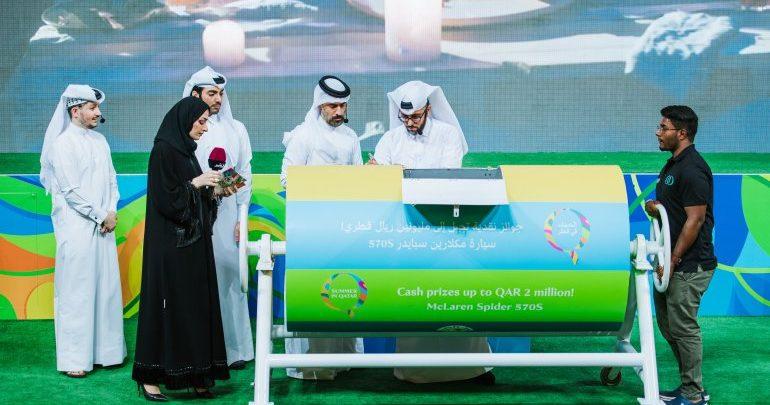 Summer in Qatar announces winners of 1st raffle draw