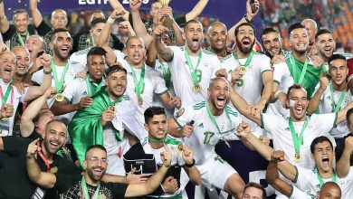 Algeria Celebrations in Qatar
