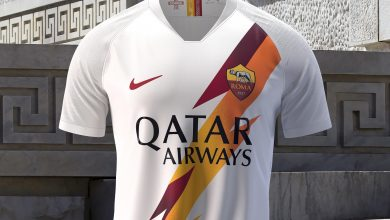 AS Roma unveil new away kit sporting Qatar Airways logo