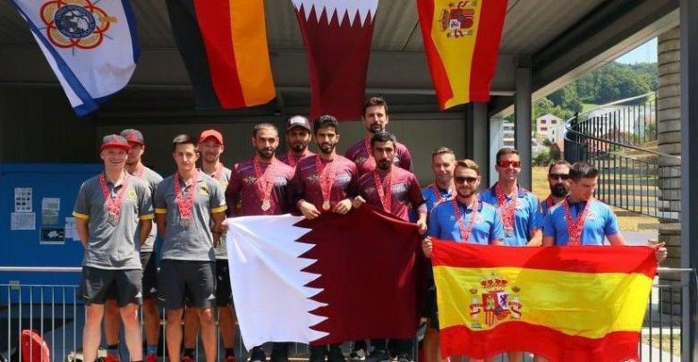 Qatar military parachute team wins first place in Switzerland championship