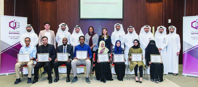 Qatargas sponsors Best Overall Prize at 16th Annual Plant Design Competition