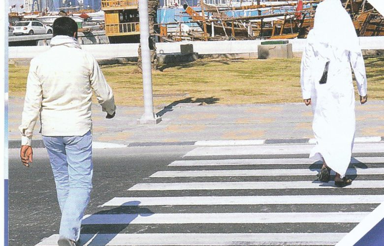 Pedestrians face fine up to QR500 for traffic violations
