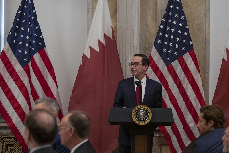 Qatar and America confirm their commitment to move forward with high-level strategic cooperation