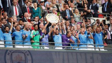 Manchester City wins the FA Shield