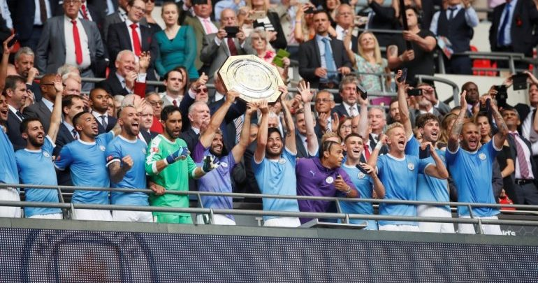 Manchester City wins the FA Shield