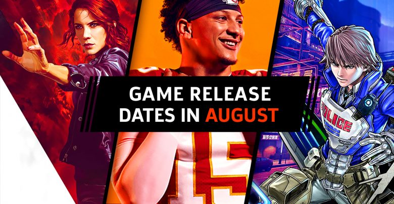 Video games of August 2019