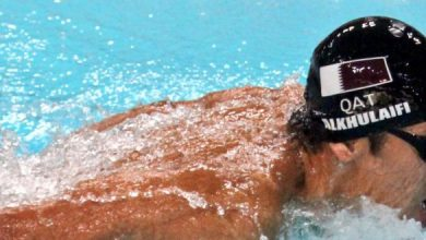 Qatar's swimming team continues on the right path