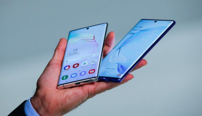 Samsung unveils new Galaxy Note 10 smartphones