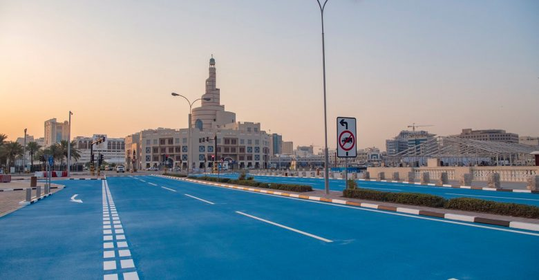 Completion of the experimental project for the asphalt cool pavement