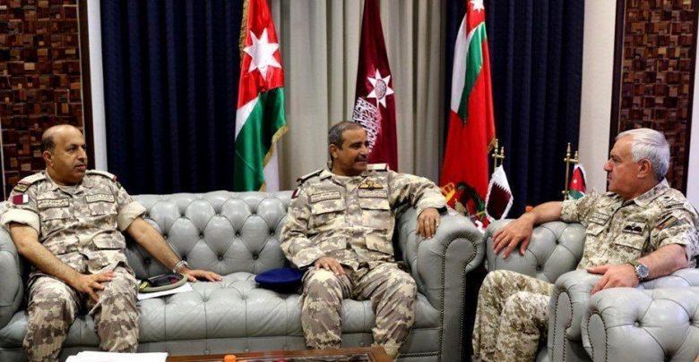 Commander of Amiri Air Force meets Jordanian chief of staff
