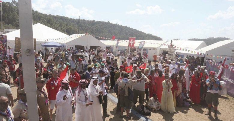 """""""Qatari parade"""" catches sight in global scout camp in America"""
