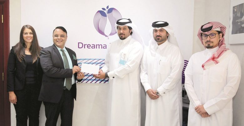 Al Jaidah Group supports Dreama with QR50,000