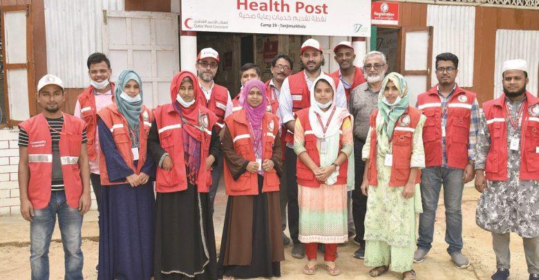 QRCS prepares for flood response in Bangladesh