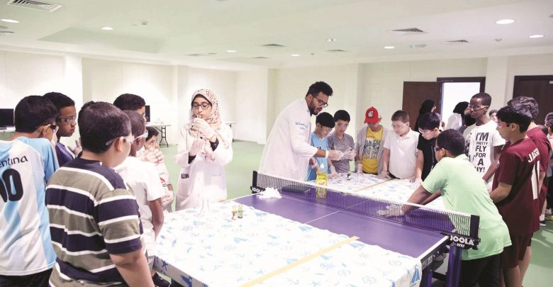 5,800 students attend summer camps of education ministry