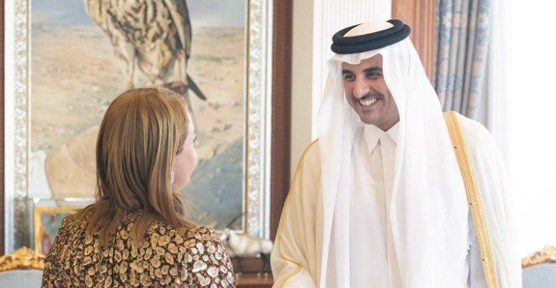 Amir meets ambassador of the Netherlands