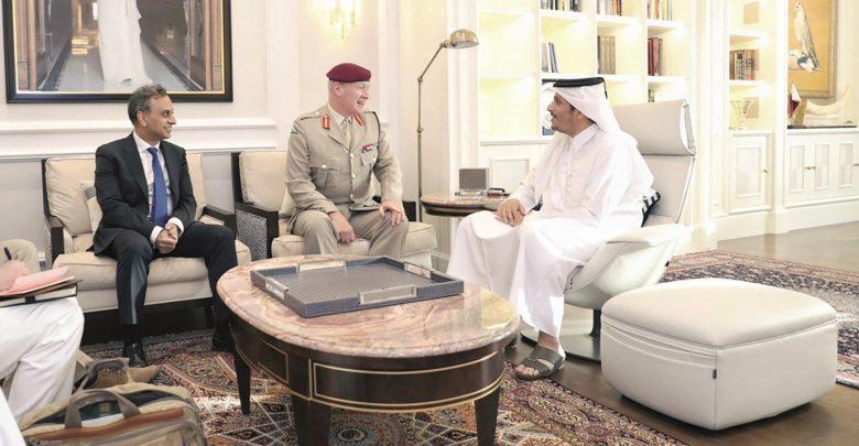 FM meets UK defence senior adviser