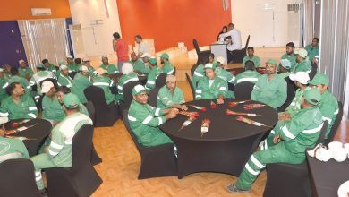 Gardens Section workers honoured