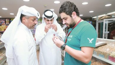 Al Daayan Municipality conducts food inspection campaign