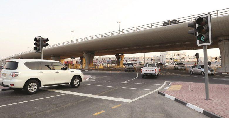 Al Gharrafa Interchange fully open to traffic