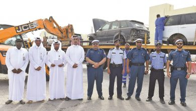 Campaign to remove abandoned vehicles in Industrial Area