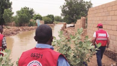 QRCS responds to flash floods in Sudan