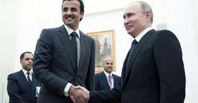 Amir holds talk with Russian President