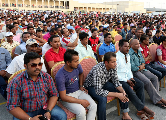 Thousands of expats attend MoI Eid programme for communities