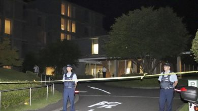 Rare crime in Japan .. Four people injured in a stabbing accident