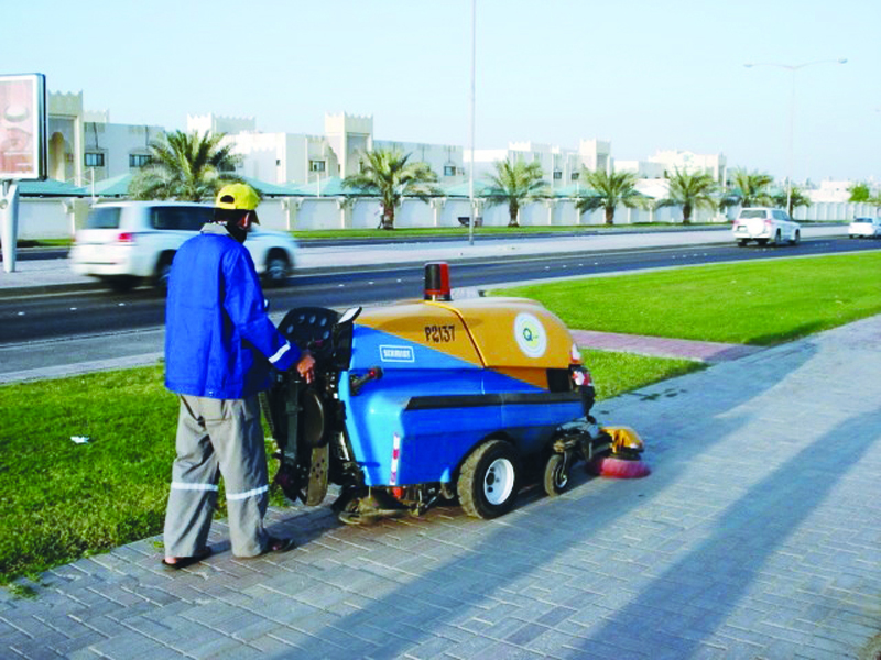 MME: field teams for cleaning in all areas during Eid